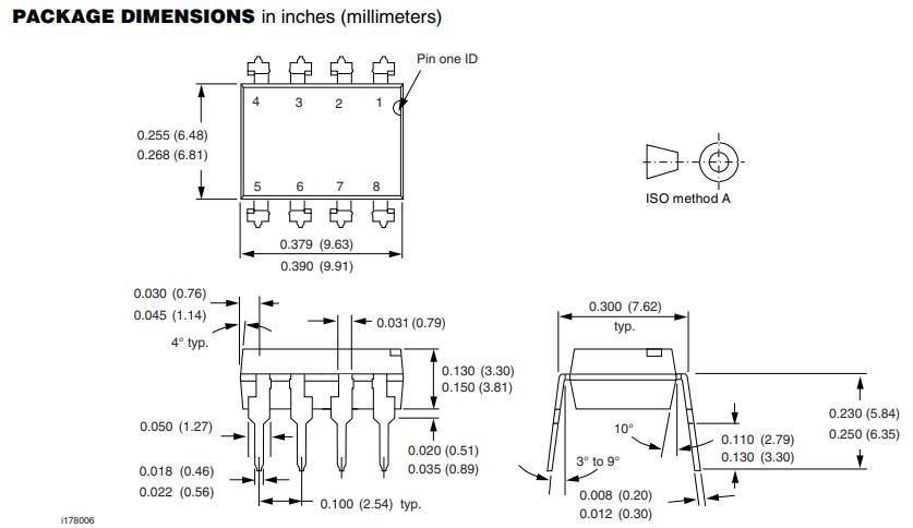 6N137 package outline