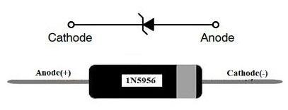 1N5956 Pin