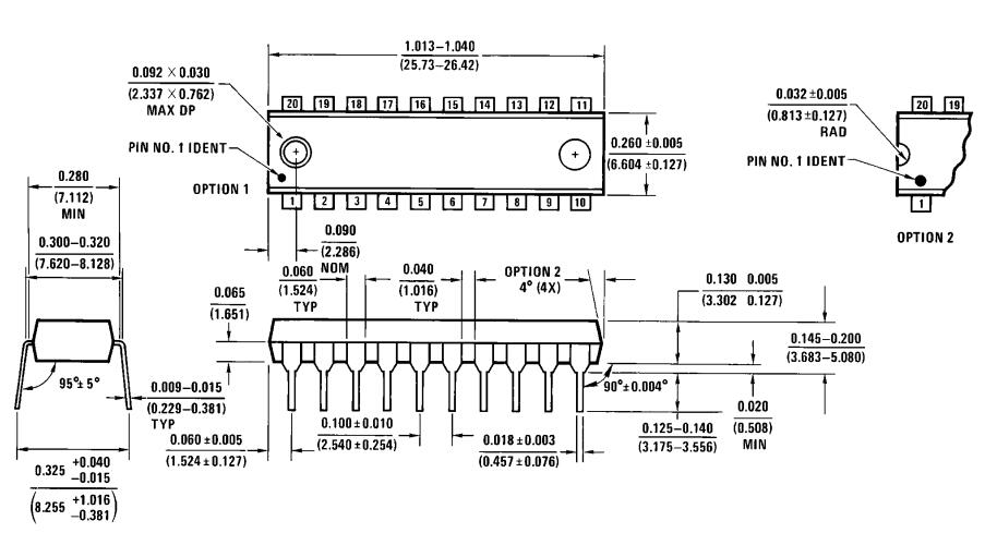 ADC0804 package (N)