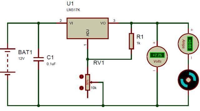 lm317 circuit