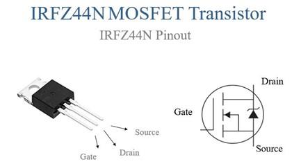 irfz44n pinout
