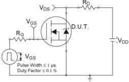 irfz44n switching time test circuit