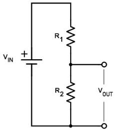 a typical voltage divider