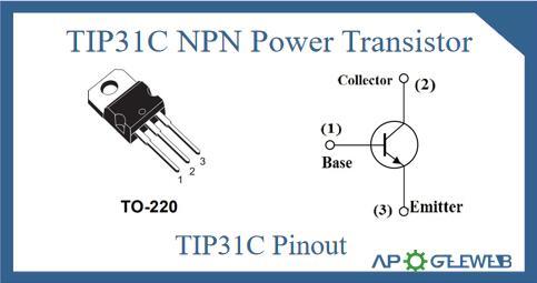 TIP31C Pinout