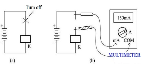 operating current dc relay