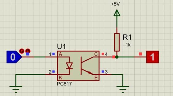 PC817 Circuit Diagram