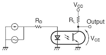 PC817 Test Circuit for Frequency Response