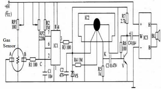 smoking alarm circuit