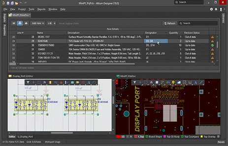 altium designer operating interface