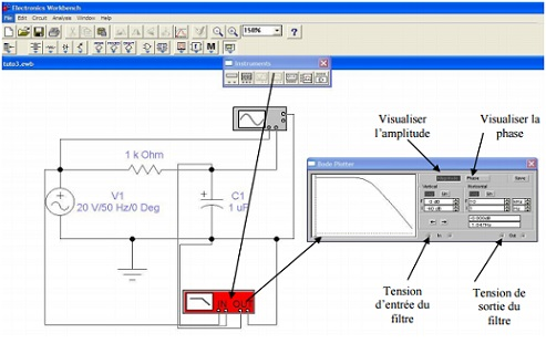 Electronics Workbench pcb circuit