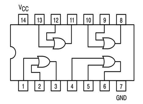 74LS32 Internal Diagram