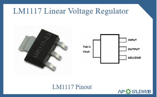 LM1117 Pinout