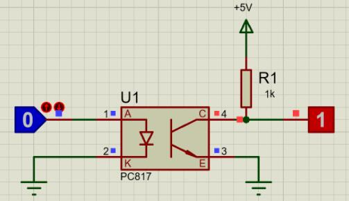 PC817 Circuit Diagram