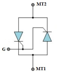 two-thyristor analogy