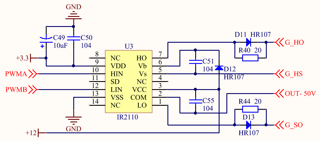 Figure 6. MOS Drive Circuit