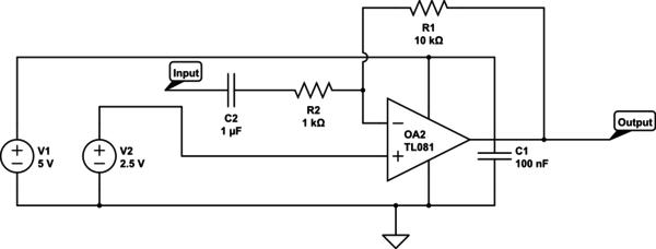 C1-A Coupling Capacitor  C2-A Decoupling Capacitor