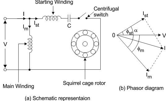 Capacitor Start Run Induction Motor