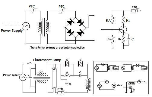Overcurrent protection applied in motor