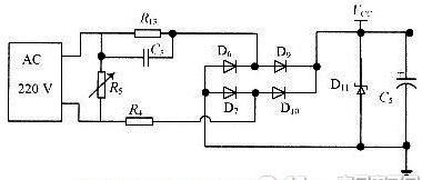 Resistance capacitance reducing circuit--Design scheme of intelligent energy saving plugs based on AVR