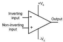 op amp circuit symbol