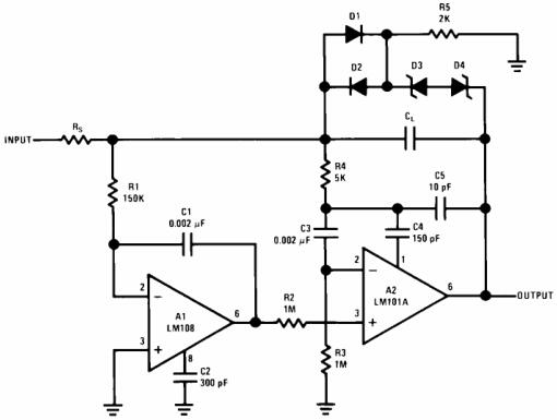 Fast Integrator with Low Input Current