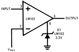 Voltage Comparator for Driving DTL or TTL Integrated Circuit