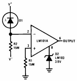 Threshed Detector for Photodiodes