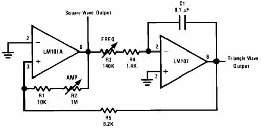 Op Amp Function Generator