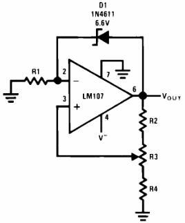 Negative Voltage Reference