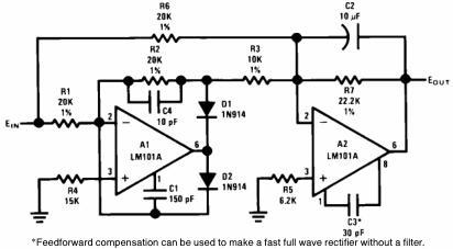 Precision AC to DC Converter