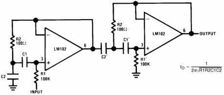 Two-Stage Tuned Circuit