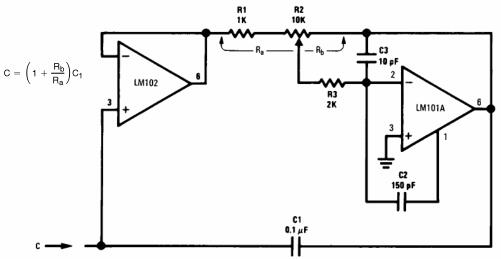 Variable Capacitance Multiplier
