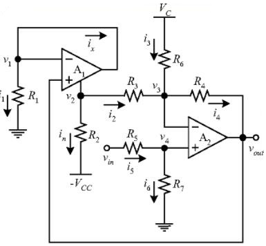 Simple Root Extractor Using Op Amps