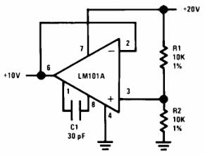 Circuit for Generating the Second Positive Voltage
