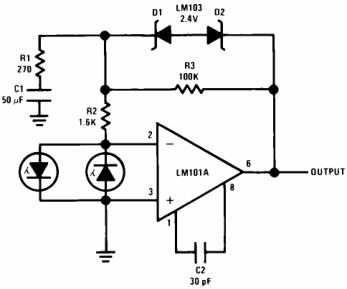 Saturating Serve Preamplifier with Rate Feedback