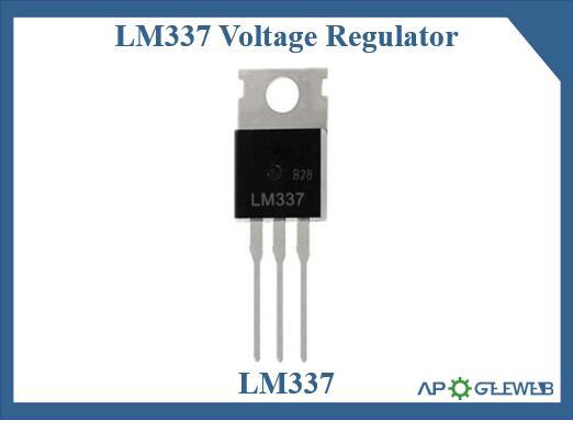 LM337 voltage regulator