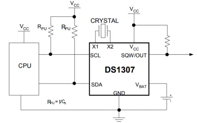 ds1307 application circuit