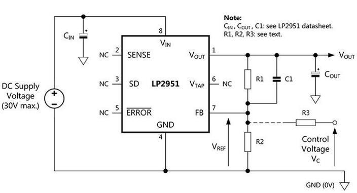 LP2951 Circuit