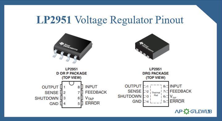 LP2951 Voltage Regulator