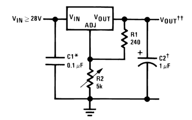LM350 Circuit