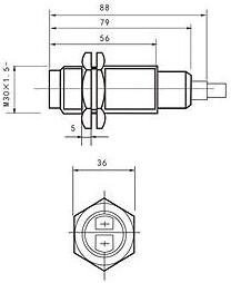 photoelectric sensor drawing