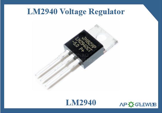 LM2940 voltage regulator