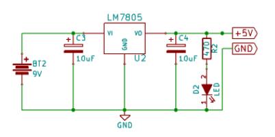 lm7805 schematic