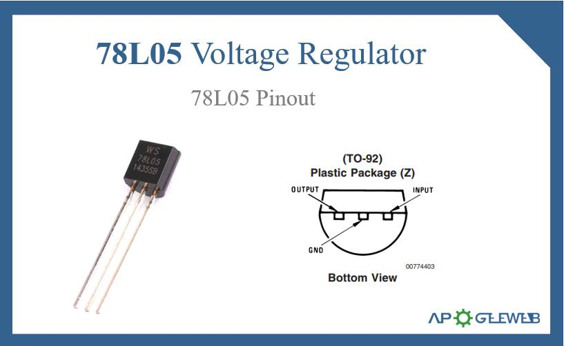 78L05 Voltage Regulator Pinout