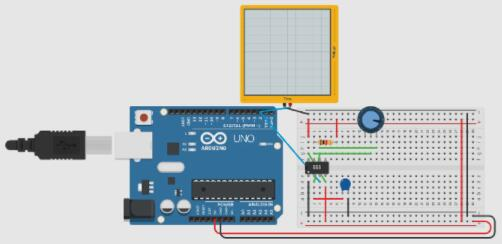 ADC Converter with 555 and Arduino