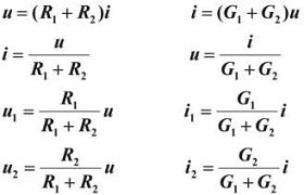 current i and voltage u