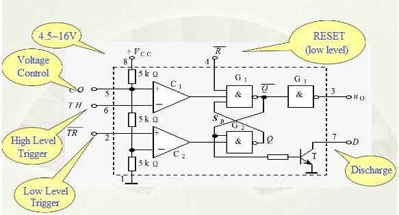 basic 555 timer circuit