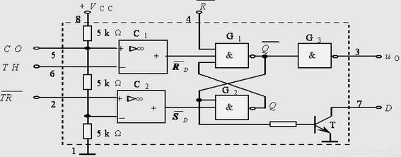 555 Multivibrator Circuit example