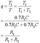 Duty Cycle Equations