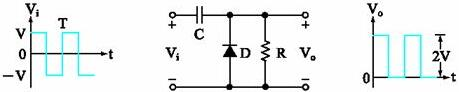 Diode Positive Clamper (simple)